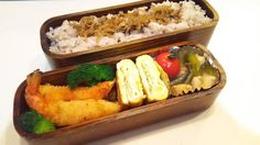 posted by @hiroko_13d 今日のお弁当しぐれ煮ご飯エビフライ玉子焼き豚と小松菜のあん#お弁当...