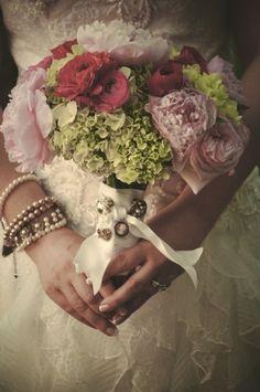 wedding boquet from our latest wedding