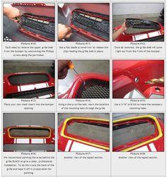 Grillcraft MX Series Grilles (main, lower, hood scoop) - 2015 WRX / 2015 STI - Grilles - Exterior - 2015+ Subaru WRX