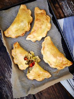 Gluten Free Veggie Pasties -This tart is perfect for Christmas – make it the day before and heat through once dinner's nearly ready. If you can't get wild mushrooms, use more chestnut ones.