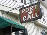 Port of Call - for good burgers.