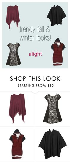 """""""Trendy Fall & Winter Plus Size Styles"""" by alight-com on Polyvore"""