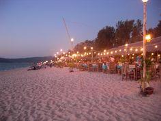 Sunset dining - Khao Lak, Thailand