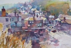 Chris Forsey .TECHNIQUES, MEDIA AND APPROACH TO PAINTING.