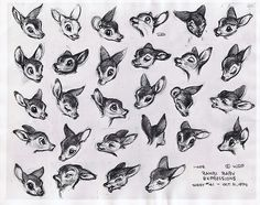 Bambi baby expressions