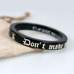 Flying Monkeys Black black, jewelry, bracelets
