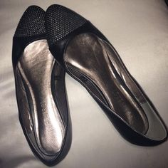 Forever 21 Faux Leather Flats Great condition, worn once. Size 7 in women's Forever 21 Shoes Flats & Loafers