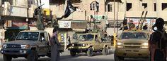 IS-Truppen in Rakka