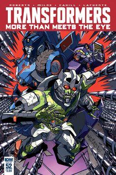Transformers - More Than Meets the Eye #53 by Alex Milne a.k.a. Markerguru