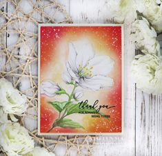 AlexSyberiaDesign May Digi Stamp Release Blog Hop + Giveaway – rainbow in november Gold Watercolor, Watercolor Cards, Ink Splatter, Hand Stamped Cards, Distress Oxide Ink, Happy Flowers, Kokeshi Dolls, Penny Black, Flowers