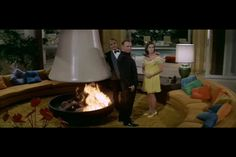 """The conversation pit set from """"The Party"""" 1968"""