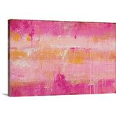 Found it at Wayfair - Champagne by Erin Ashley Graphic Art on Canvas