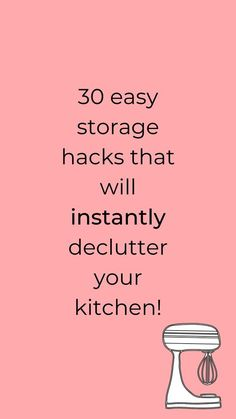 Are you looking for ways to organize your kitchen? Check out these easy and quick kitchen organization ideas to help you make order. Perfect for small kitchens so check out these cheap storage tips for kitchen. #hometalk Kitchen Storage Hacks, Kitchen Hacks, Kitchen Organization, Organization Hacks, Kitchen Kit, Kitchen Ideas, Cheap Storage, Diy Storage, Storage Ideas