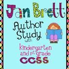Jan Brett author study w/CCSS alignment! $