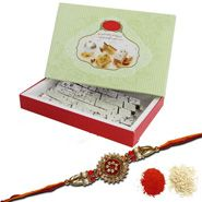 Send rakhi online with sweets