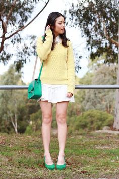 "The Fashion Blogger ""K is for Kani"" is wearing a Bohemia bag  Shop here http://m1p.fr/wZs"