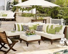 Exterior Patio Area Furniture for Great Houses – Outdoor Patio Decor Sectional Furniture, Furniture Decor, Outdoor Furniture Sets, Furniture Design, Rustic Furniture, Luxury Furniture, Furniture Makeover, Garden Furniture, Painted Furniture