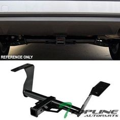 Topline Autopart Class 3 III Trailer Towing Hitch Mount Receiver Rear Bumper Utility Tow Kit 2 Tube For 1417 Subaru Forester -- Be sure to check out this awesome product.