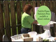 Paper Alice uses fresh botanicals