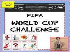 Fun way to teach students about the FIFA World Cup and link to sport, life skills and critical thinking.   This is a zip file that contains a series of workshops with all the resources needed to deliver either a drop down day for a year group or a SOW on Human rights and Sport.