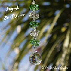 Feng Shui Energy, You Are Awesome, Suncatchers, Peridot, Birthstones, My Etsy Shop, Crystals, You Are Amazing, Birth Stones