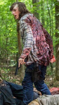 The Walking Dead Season 8 Photo: Carl Grimes Walking Dead Season 8, The Walking Dead Tv, Chandler Riggs, The Walkind Dead, Talking To The Dead, Wattpad, Carl Grimes, Dead Inside, Stuff And Thangs
