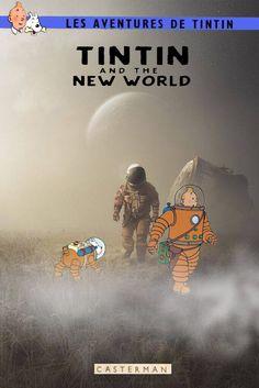 classé dans Objectif Lune & On a marché sur la lune. Tintin ans The new world
