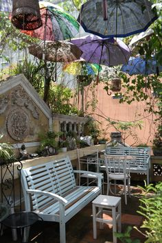 Nola, Hanoi, Vietnam. Interesting idea to add shade.