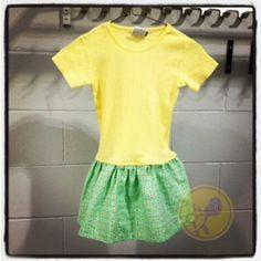 T shirt Dress Tutorial