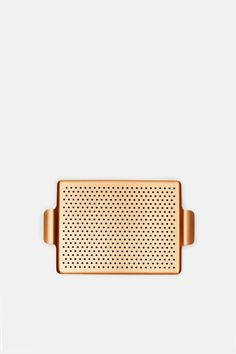 Small Rubber Grip Tray - Blush Gold