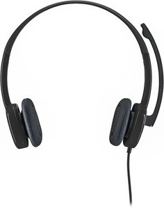 Logitech - Stereo H151 On-Ear Headphones - Black, 981-000587