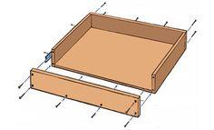 Home-Dzine - DIY pull-out storage drawers Storage Drawers, Storage Organization, Storage Spaces, Cabinet Drawers, Kitchen Pantry, Diy Kitchen, Kitchen Reno, Kitchen Ideas, Sliding Shelves