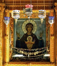 Wonderworking Icon of the Mother of God - Inexhaustible Cup known as  Неупиваемая чаша