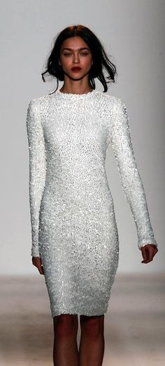 White sequin dress ♥