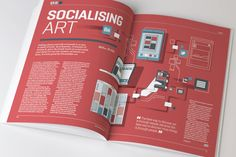 Artworks Journal #3 Editorial Design and Art Direction by The Design Surgery , via Behance