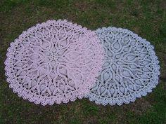 Como tejer mantel a crochet paso a paso  parte 3/6