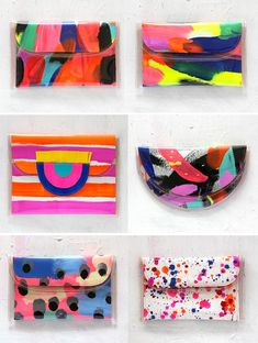Trendy Women's Purses : this summer i have been absolutely obsessed with this brand. i find that very few brands can combine soo much colour and make it look fantastic. i have recently purchases my own tote and a small clutch bag xx Summer Bags, Summer Diy, I Spy Diy, Painted Bags, Diy Bags Purses, Diy Handbag, Shopper, Womens Purses, Handmade Bags