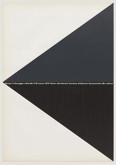 Rocco Borella poster by A.G. Fronzoni (1979)