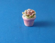 Pink Potted Cactus for Dollhouse 12th Scale by Thierry1888 on Etsy