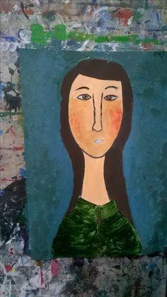 Modigliani,portret inspirowany
