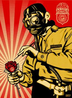 Проверка на токсичность (Toxicity inspector) - Shepard Fairey