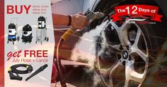Take advantage of Car Steam Cleaning 12 days of Christmas offer  #xmas2017 #automotive #cardetailing