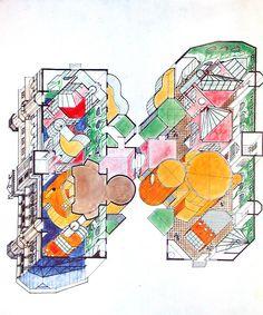 Arqueología del Futuro: 1981 Centro Cultural Mercado San Vicente [Miguel Ángel Roca] HIPERGRÁFICA
