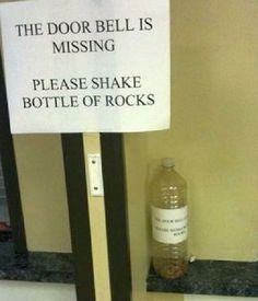 When things go wrong-Most creative door bells
