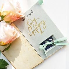 DIY For The Weekend ~ How To Create A Vintage Book Wedding Ring Box...