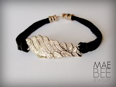 Gold Bronze Winged Bracelet » My mom would LOVE this, it's beautiful! #mothersdaygifts
