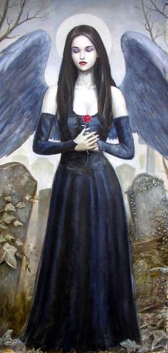 """""""The angel of the graveyard."""""""
