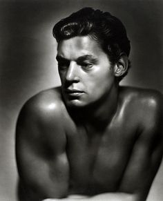 Johnny Weissmuller by George Hurrell 1932