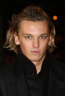 Jamie Campbell Bower = Young Lord John Grey