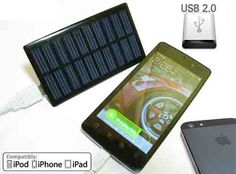 """Here's a real quick and easy tutorial on making a """"Portable Solar Phone Charger"""", it only took me 5 minutes to make one! It's powered by PURE solar energy. Renewable Energy, Solar Energy, Solar Power, Kinetic Energy, Solar Phone Chargers, Solar Charger, Solar Projects, Diy Projects, Diy Solar"""